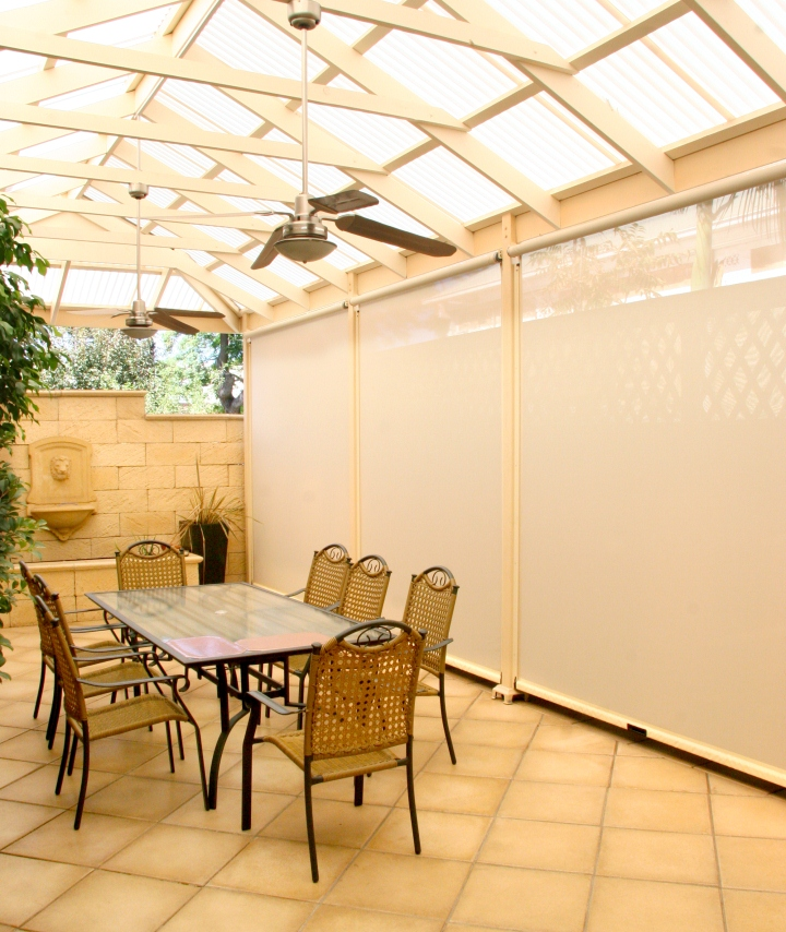 Outdoor blinds from Alfresco Outdoor Solutions
