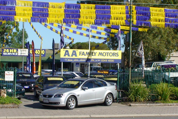 Find cheap used cars in Adelaide from AA Family Motors