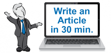 How to Write Articles for your Blog