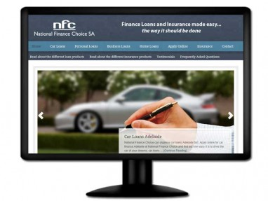 National Finance Choice Website Design