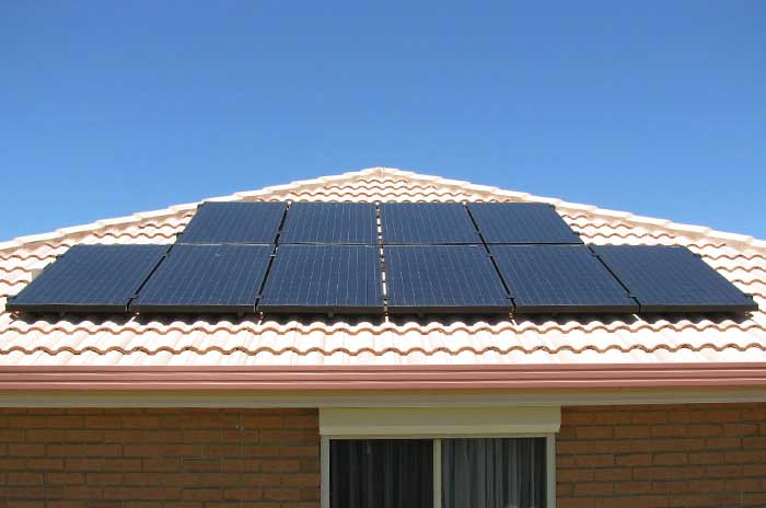 Impact of solar panels on electricity prices